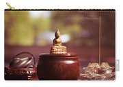 Meditating Buddha Statue Carry-all Pouch