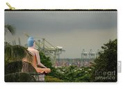 Meditating Buddha Views Container Seaport Singapore Carry-all Pouch