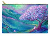 Meditation In Mauve Carry-all Pouch by Jane Small