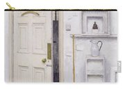 Meditation On A Door I Carry-all Pouch by Charles E Hardaker