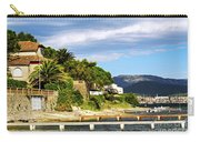 Mediterranean Coast Of French Riviera Carry-all Pouch