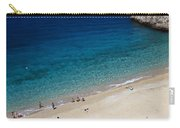 Mediterranean Coastal Scene Carry-all Pouch