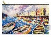 Mediterranean Port Colours Carry-all Pouch
