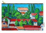 Mediterranean Roofs 2 3 4 Carry-all Pouch