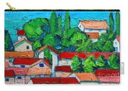 Mediterranean Roofs 2 3 Carry-all Pouch