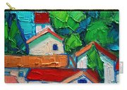 Mediterranean Roofs 2 Carry-all Pouch