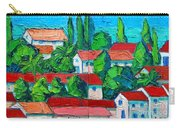 Mediterranean Roofs 3 4 Carry-all Pouch