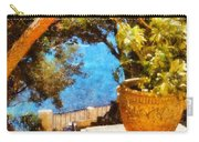 Mediterranean Steps Carry-all Pouch by Pixel Chimp