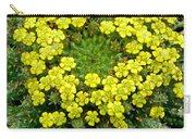Medusa Succulent Flower Cluster Carry-all Pouch