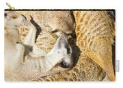 Meerkat Group Resting Carry-all Pouch