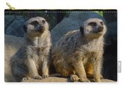 Meerkats Carry-all Pouch