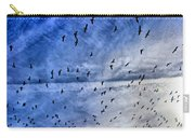 Meet Me Halfway Across The Sky 1 Carry-all Pouch by Angelina Vick