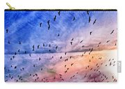 Meet Me Halfway Across The Sky 2 Carry-all Pouch by Angelina Vick
