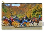 Meeting Of The Carriages Carry-all Pouch