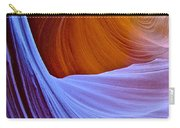 Meeting Of The Curves In Lower Antelope Canyon In Lake Powell Navajo Tribal Park-arizona  Carry-all Pouch