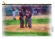 Meeting Of The Umpires Photo Art Carry-all Pouch