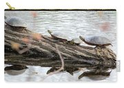 Meeting On The Log Carry-all Pouch