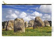 Megalithic Monuments In Brittany Carry-all Pouch by Elena Elisseeva