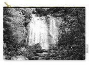 Meigs Falls Smoky Mountains Bw Carry-all Pouch