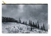 Melancholia Pines And Trees Carry-all Pouch