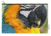 Mele E Manono Ia Ea Macao Tropical Birds Of Hawaii Carry-all Pouch