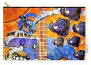 Melodies And Sunset Seas Carry-all Pouch