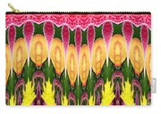Melting Lily And Chrysanthemums Abstract Carry-all Pouch