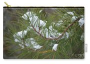 Melting Snow In The Pines Carry-all Pouch