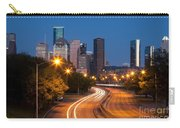 Memorial Drive And Houston Skyline Carry-all Pouch