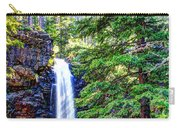 Memorial Falls In Montana Carry-all Pouch
