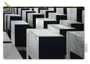 Memorial To The Murdered Jews Of Europe Carry-all Pouch by RicardMN Photography