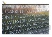 Memorialized Carry-all Pouch