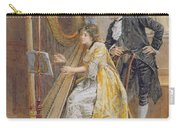 Memorys Melody Carry-all Pouch by George Goodwin Kilburne