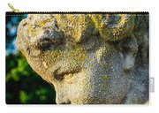 Memphis Elmwood Cemetery - Boy Angel Vertical Carry-all Pouch