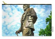 Memphis Elmwood Cemetery - Man With Cane Carry-all Pouch