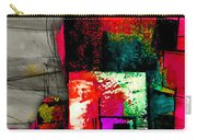 Memphis Map And Skyline Watercolor Carry-all Pouch