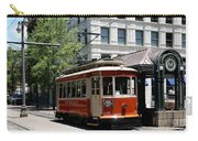 Memphis Trolley On Main Street Carry-all Pouch