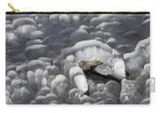 Mendenhall Lake Ice Abstract Carry-all Pouch
