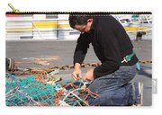 Mending The Nets Carry-all Pouch