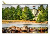 Mendota Bete Grise Lighthouse Carry-all Pouch