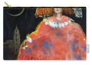 Menina And Cathedral Oil & Acrylic On Canvas Carry-all Pouch