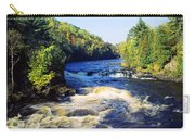 Menominee River At Piers Gorge, Upper Carry-all Pouch
