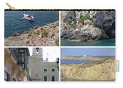 Menorca Collage 02 - Labelled Carry-all Pouch