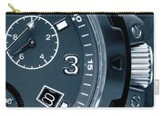 Mens Watch Close Up Carry-all Pouch