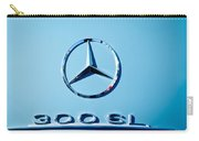 Mercedes 300 Sl Emblem -0190c Carry-all Pouch