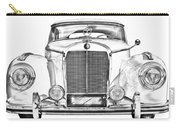Mercedes Benz 300 Luxury Car Illustration Carry-all Pouch