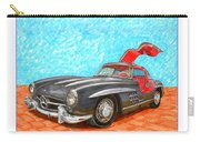 Mercedes  Benz 300 S L Gull Wing Carry-all Pouch
