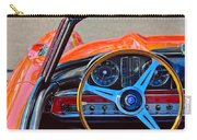 Mercedes-benz 300 Sl Steering Wheel Emblem Carry-all Pouch