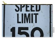 Mercedes Speed Limit 150 Carry-all Pouch