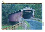 Mercer's Mill Covered Bridge Carry-all Pouch